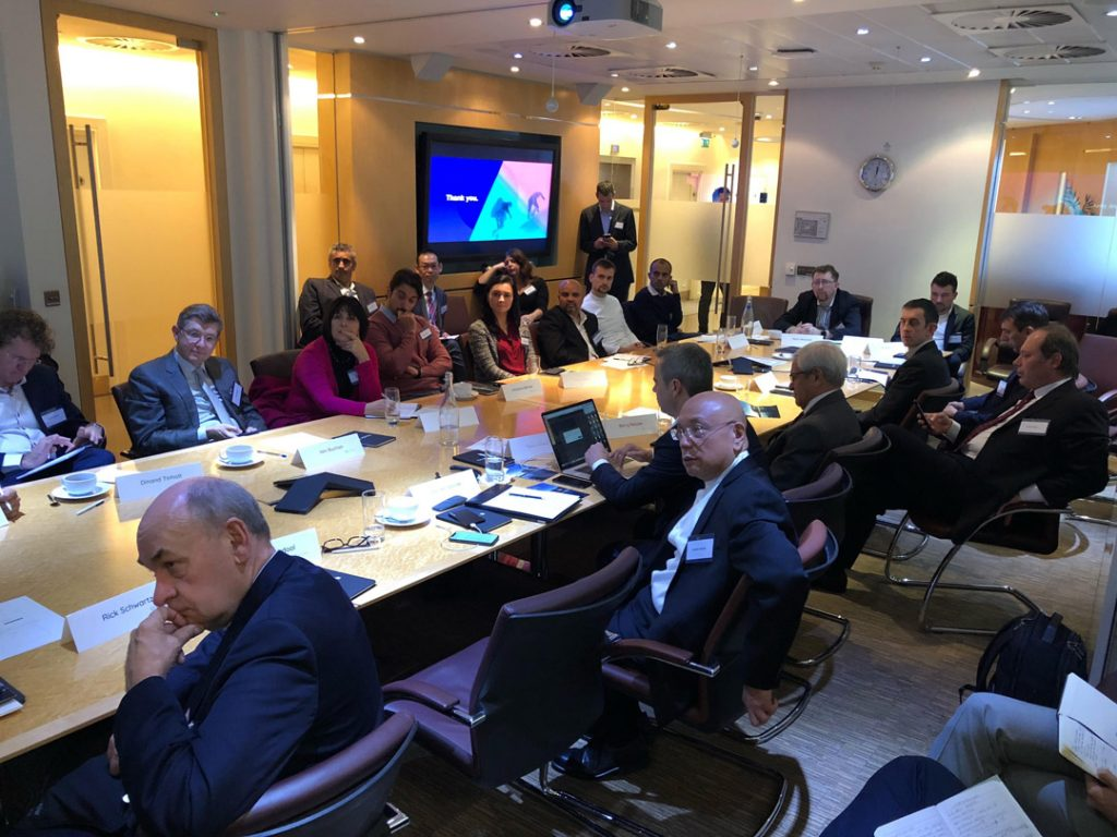 AI Pioneers meeting at Petrofac HQ London 2018