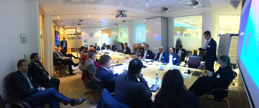 AI leaders presenting at AI Pioneers meeting at Petrofac HQ London 2018