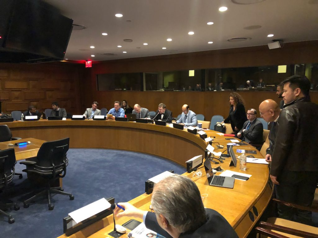 UN HQ AI Pionerers Meeting 2018 - Mark Chairing the meeting