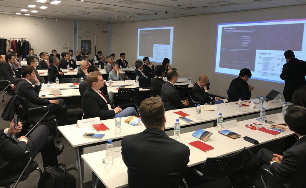 AI Pioneers meeting at Hitachi Research Tokyo Japan 2018